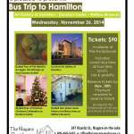 Bus Trip to Hamilton: Art Gallery of Hamilton, Dundurn Castle & Military Museum