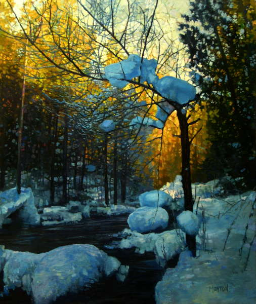 Chris Morton, Freezing Creek, Oil