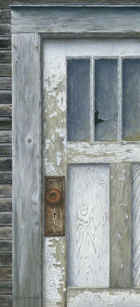 Josh Tiessen, Behold the Door, Floatmount Limited Edition Giclée Print