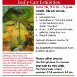 Trip to AGO: Emily Carr Exhibition