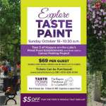 Taste the Town Tour + Painting @ the Pumphouse