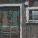 Josh Tiessen: Watching Paint Peel: Weathering Effects of Nature and Time
