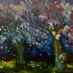 Linda Hankin, Cherry Trees at Kingsbridge