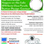 Button Design Contest: NOTL Santa Claus Parade