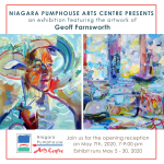 Exhibition Featuring the Artwork of Geoff Farnsworth