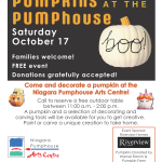 Decorate Pumpkins at the Pumphouse
