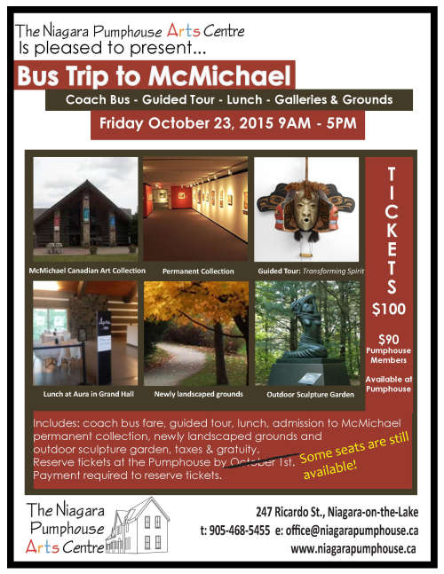 Bus Trip to McMichael