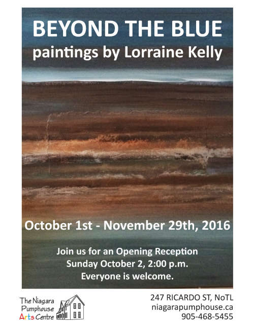 Beyond The Blue, Paintings by Lorraine Kelly