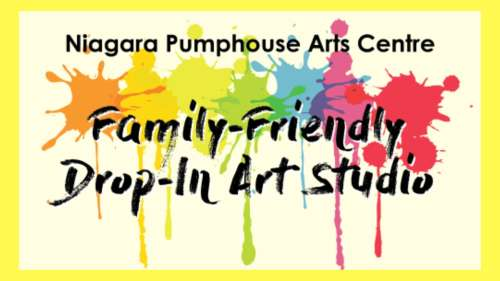 Family Friendly Drop-In Art Studio (July 2019)