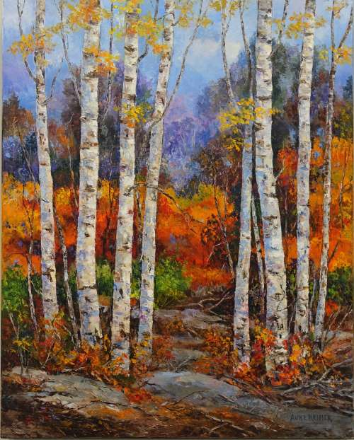 Landscapes in 4 Seasons, Painting in Oil