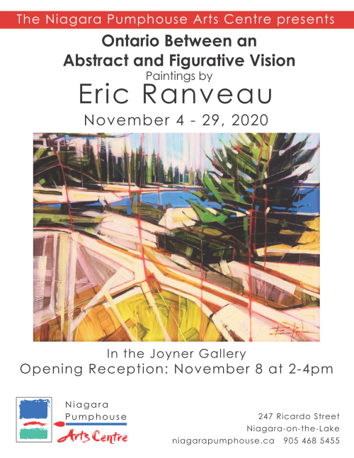 Ontario Between an Abstract and Figurative Vision: Eric Ranveau